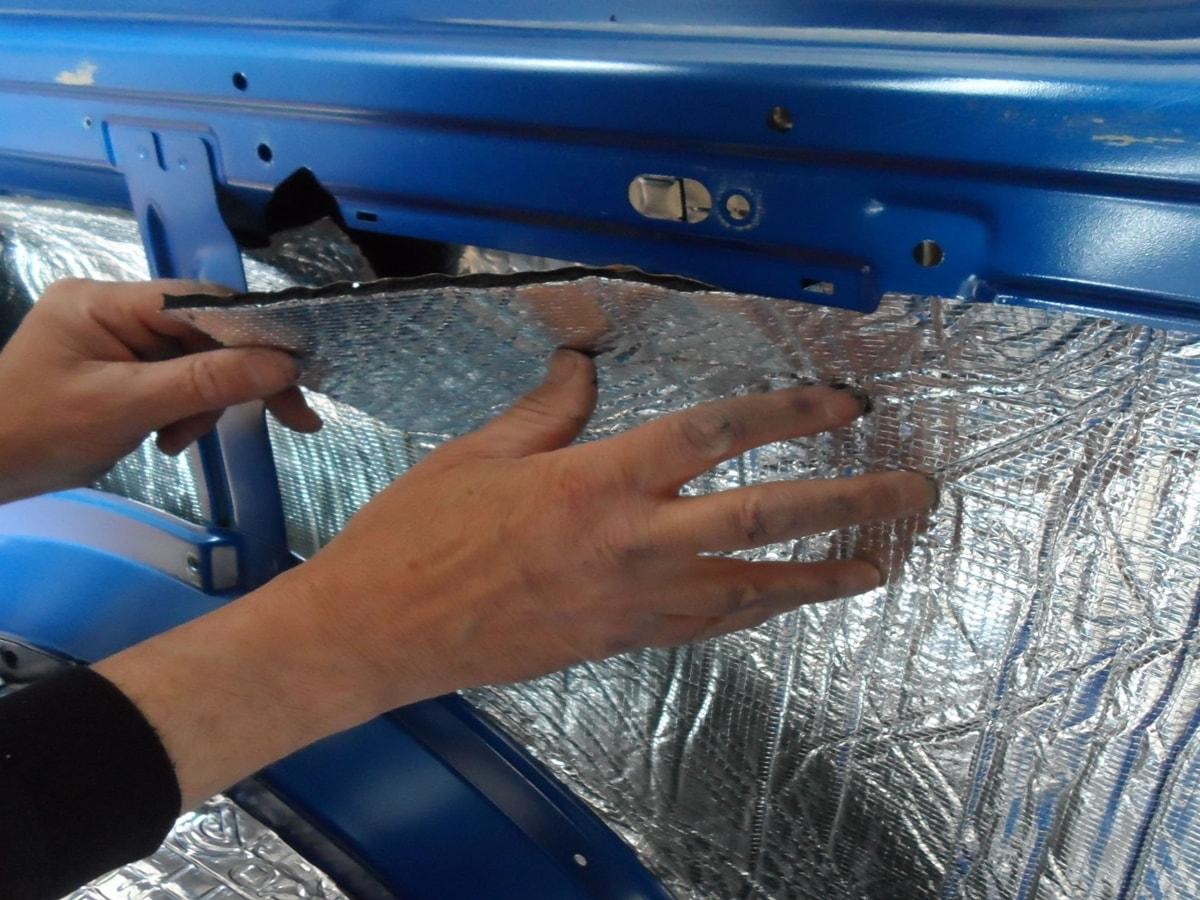 Aluminyum Sünger Uygulama